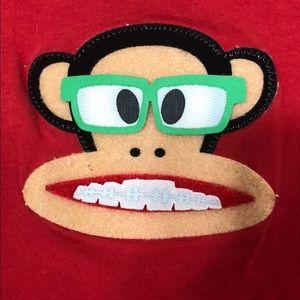 Paul frank monkey interchangeable Velcro T-shirt